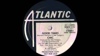 Chic  Good Times Atlantic Records 1979