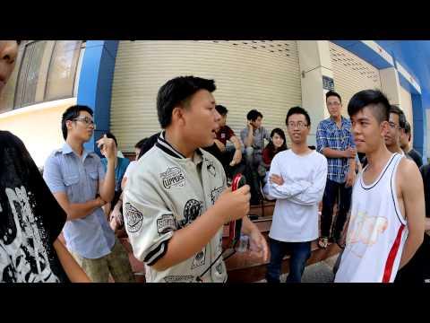 Rap pree-style chửi nhau đường phố ở Việt Nam ( không biết rap xong có đánh nhau không nhỉ )