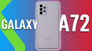 Samsung Galaxy A72 ANÁLISIS - MARGEN DE MEJORA y UNA GRAN BATERÍA