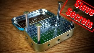 How To Make A Mini Wood Stove - Easy & Effective!
