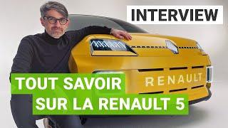Renault 5 électrique : les secrets de son incroyable design