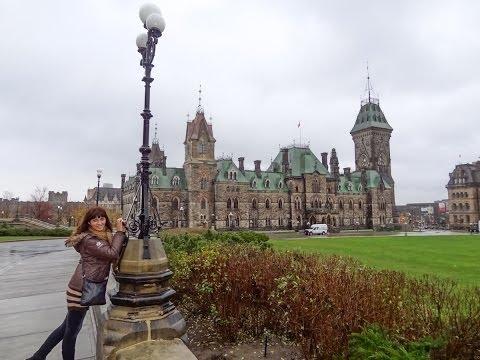 Оттава. Прогулка по Столице Канады. Жизн