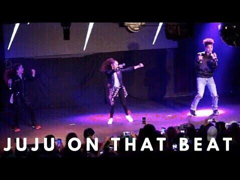 Juju on That Beat at MattyB's Concert