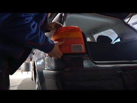 VW GOLF 4 RÜCKLEUCHTEN WECHSELN / AUSBAUEN TUTORIAL