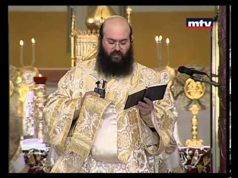 قداس الالهي لغبطة البطريرك يوحنا اليازجي من ابرشية بيروت