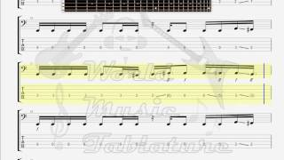 Evergrey   December 26th BASS GUITAR TAB