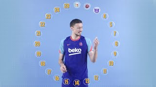 ? BARÇA EMOJIS with CLEMENT LENGLET
