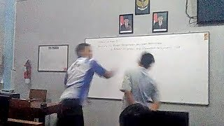 Usai Videonya Viral, Kini Guru Penampar Siswa Ditetapkan Sebagai Tersangka