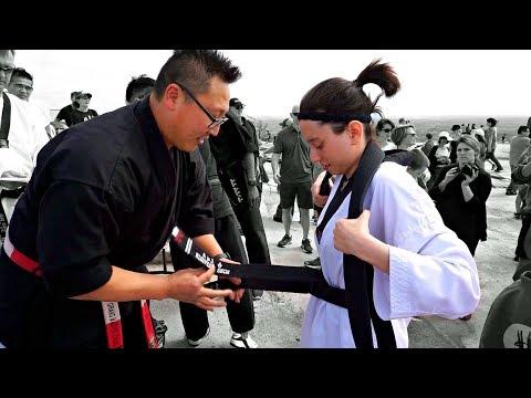 My 2nd Dan Black Belt Test - YouTube