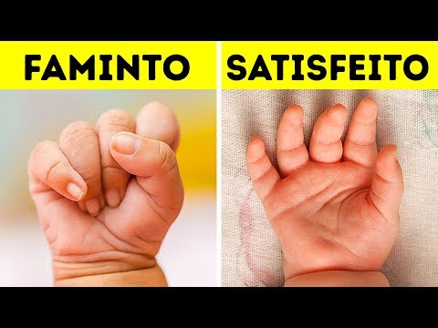 18 Coisas que os bebês tentam comunicar