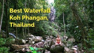 Best Waterfall - Koh Phangan, Thailand