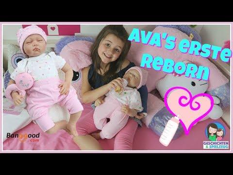 Echtes Baby für Ava??? Erste Reborn Baby Puppe!! 💕 Geschichten und Spielzeug