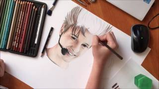 Drawing Thomas from Amici 16