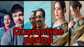 Covid-19| Lockdown: Bipasha basu and Karan singh grover qurantained & aware about Coronavirus