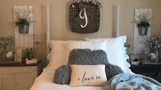Sneak Peek! Farmhouse Chic Master Bedroom   Southern Graces