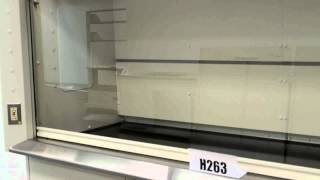 8′ Kewaunee Supreme Air Flow Fume Hood