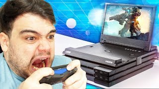 O PLAYSTATION 4 MAIS MONSTRO QUE EXISTE!