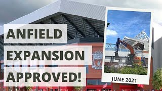 61,000-capacity Anfield APPROVED!   Anfield Road Expansion Update 1