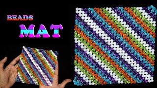 DIY MAT || How To Make Table Mats With Beads || Beaded Mat-Door Mat-Table Mat