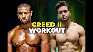 I Trained Like Michael B Jordan For Creed 2 Ft. Corey Calliet   Mens Workout Routine