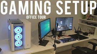 Gaming setup 2019 and Office tour