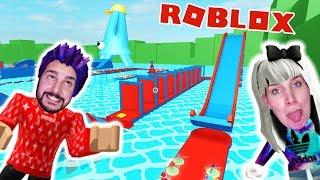 Roblox: AUS WASSERPARK ENTKOMMEN! KAAN & NINA IM XXL SCHWIMMBAD! Escape Waterpark Obby Deutsch