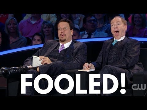 Magician and Ace Salesmen Adam Wilber Fools Penn and Teller!