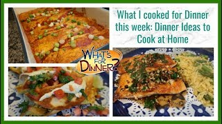 What I Cooked for Dinner this week | Dinner Ideas to Cook at Home