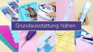 10 Dinge für die Grundausstattung Nähen | Nastjas Nähtipps Folge #3 & VERLOSUNG!!!