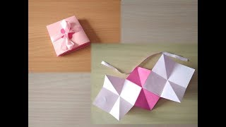 Squash card tutorial-Infinity explosion box Card 5- By Sheetal Khajure