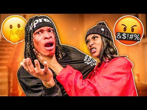 COMING HOME SMELLING LIKE ANOTHER WOMAN PRANK ON GIRLFRIEND!