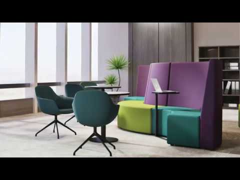 Arena Seating Collection from OfficePace