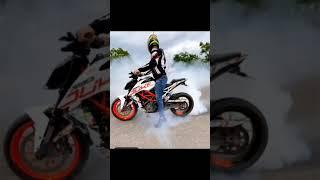 Bike Stunt WhatsApp status😌💥 #shorts #ktm #stunt