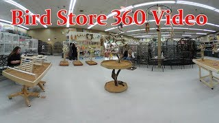 360 Degree Virtual Tour of Bird Store: Todd Marcus Birds Exotic