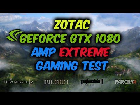 ZOTAC GEFORCE GTX 1080 AMP Extreme + i7 8700K Gaming Test @ 1440p