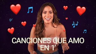 ¿Cuáles son las canciones favoritas de Anitta?   Canciones Que Amo