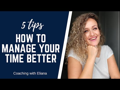 We all have the same 24 hours…why do some people make it look so easy to do everything and why do most of the time we feel that we are forever catching up on a lost battle against time?  In this video I share with you 5 tips that actually work so you can