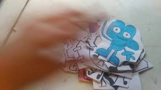 Battle For Bfdi Papers All 72 Characters Plush Paper