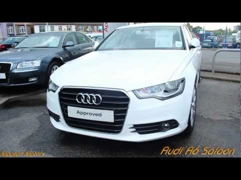 2013 Audi A6 Saloon White