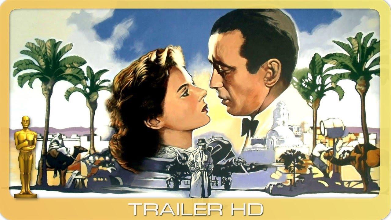Video trailer för Casablanca ≣ 1942 ≣ Trailer