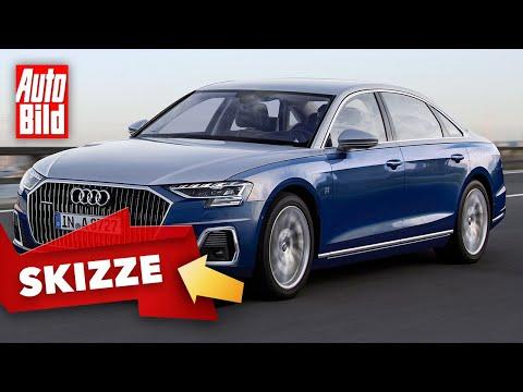 Audi A8 Horch (2021) |Bringen die Ingolstädter den Namen Horch zurück? |Skizze
