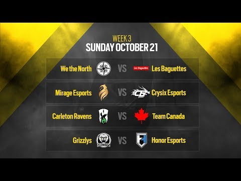 Rainbow Six Siege: LIVESTREAM Canadian Nationals Online Circuit 2 | Week 3 - Day 2 | Ubisoft [NA]