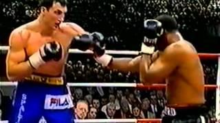 Wladimir Klitschko Vs  Chris Byrd I 14 10 2000