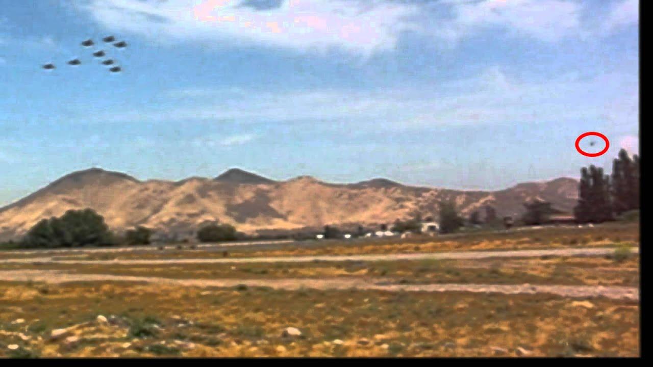 Did A UFO Buzz This Chilean Air Show?