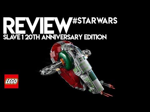 Vidéo LEGO Star Wars 75243 : Slave I – Édition 20ème anniversaire