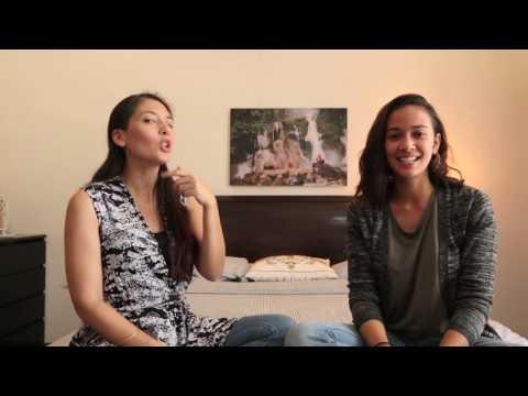 Hannah & Nadine #16daysofactivism