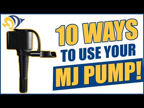 10 helpful ways to use versatile MJ pumps for your reef tank