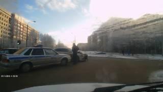 Авария 07. 11. 2016 г. Апатиты.