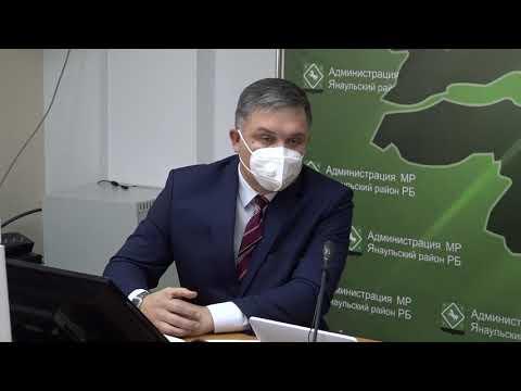 Брифинг о ситуации в районе с новой коронавирусной инфекцией с главным врачом ЯЦРБ Тимуром Салаватовичем Мадьяровым.