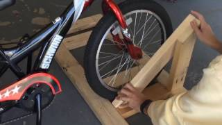 Homemade Bike Rack Tutorial